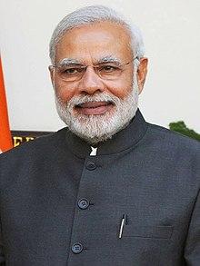 Prime Minister of India -Narendra Damodardas Modi