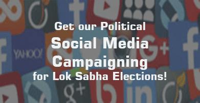 Social Media Campaigning Lok Sabha Election 2019