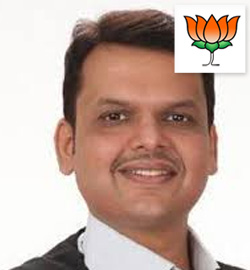 Nagpur Maharashtra Devendra Gangadhar Fadnavis