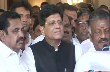 bjp aiadmk lok sabha elections 2019