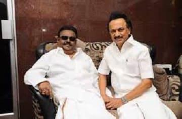 vijayakanth m k stalin lok sabha elections 2019