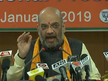 Amit Shah BJP Lok Sabha Elections 2019