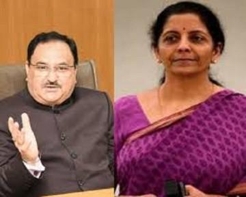 J P Nadda Niramala Sitharaman Lok Sabha Elections 2019