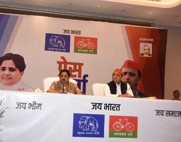 Mayawati Akhilesh Yadav Lok Sabha Elections 2019