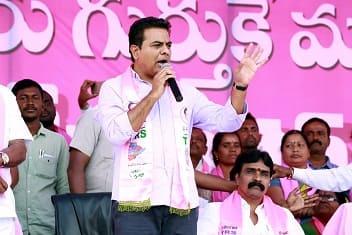 k t rama rao lok sabha election 2019