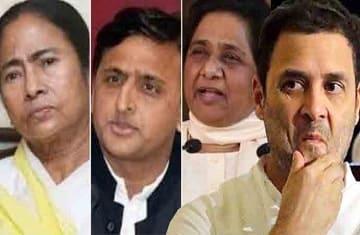 mamata akhilesh mayawati rahul lok sabha elections 2019