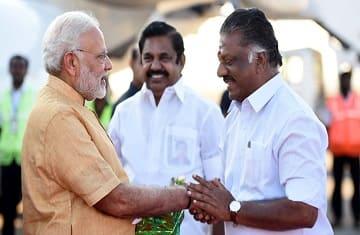 modi palaniswami lok sabha elections 2019