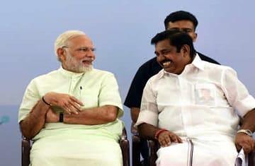palaniswami modi lok sabha elections 2019