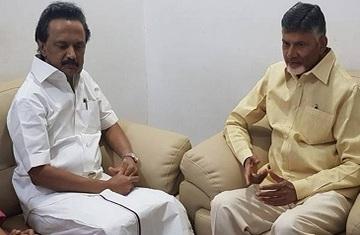 Chandrababu Stalin Lok Sabha Elections 2019
