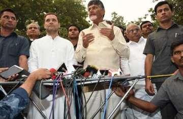 Congress TDP Lok Sabha Elections 2019
